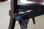 Guru-Shop Stuhl im Kolonialstil 2, Teakholz, 95x45x45 cm, Sitzmöbel