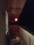 Schöner Leuchtstern zur Weihnachtszeit