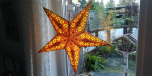 Beautiful star, well and stably processed
