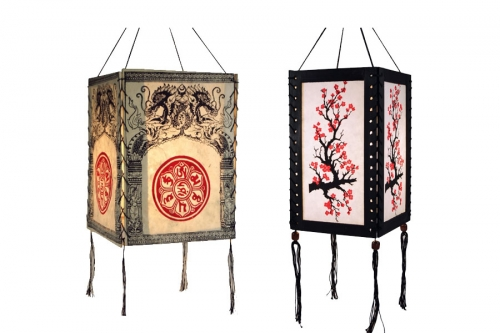 Asian Pendant Lamps & Lamp Shades