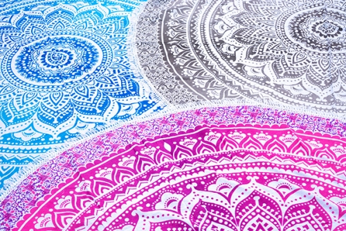 Bedspreads with mandala