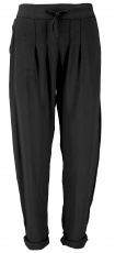 Narrow trousers, pencil trousers, summer trousers - black