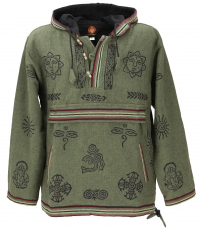 Goa+hooded shirt%2C+Baja+Hoody+-+gr%C3%BCn