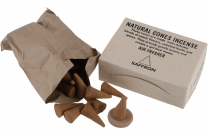 Natural cones incense, natural incense cones - Safron