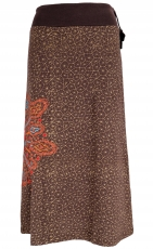 Maxi skirt, long skirt Mandala, Boho skirt - brown