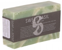 Handmade scented soap, 100 g Fair Trade - Basil