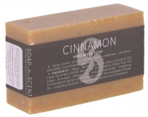 Handmade scented soap, 100 g Fair Trade - Cinnamon