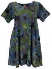 Hippie midi dress Boho chic, XXL Maxi dress for strong women - bl..