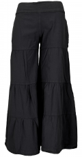 Comfortable palazzo trousers, tiered Marlene trousers, culottes, ..