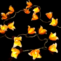 Exotic Blossoms LED Chain of Lights Chiang Mai 20 Pcs - Blossom o..