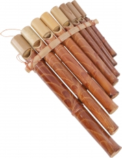 Handmade wooden musical instrument Pipe - Panflute