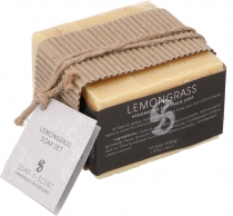Handmade scented soaps set, 3x100 g, Fair Trade - Lemongrass Set