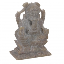 Ganesha figure made of soapstone, Ganesha sculpture - Model 1