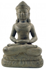 Seated stone Buddha, 40 cm - Model 1