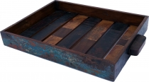 Vintage recycled wood tray