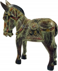 Carved horse, decorative wooden object - Design 2