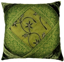 Oriental velvet brocade cushion cover, cushion cover, decorative ..