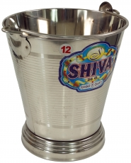 Stainless steel bucket, cachepot, waste bin Bucket 6 L