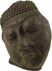 Buddha figure, Buddha mask made of stone