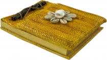Small notebook shell - yellow