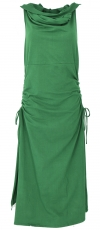 Changeable Goa dress, Psytrance Festival dress - emerald green