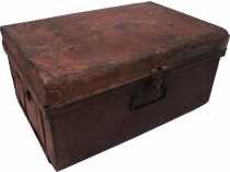 Old tin case antique metal case - Model 12
