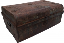 Old tin case antique metal case - Model 14