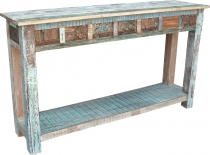Sideboard, highboard in antique look with many details - model 9