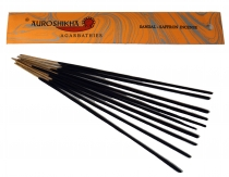 Auroshikha Incense Sticks - Sandalwood/Saffron