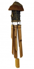 Exotic bamboo wind chime, sound play - Bird house 1