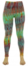 Batik Leggings - green
