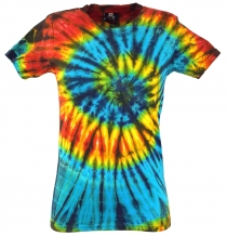 Tie Dye Goa Shirt - blue/black