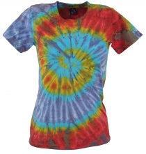 Tie Dye Goa Shirt - purple