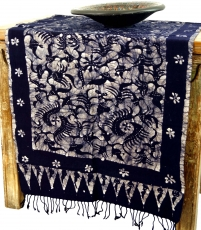 Batik table runner, wall hanging from Indonesia - Design 3