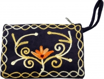 Cashmere embroidered wallet - 4