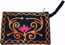 Cashmere embroidered wallet - 5