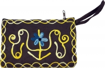 Cashmere embroidered wallet - 7