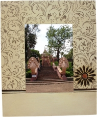 Picture frame `Bagru` No. 4