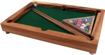 Board game, wooden parlour game - Billiard
