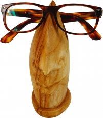 Wooden glasses stand - light brown