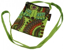 Neck pouch, purse - green
