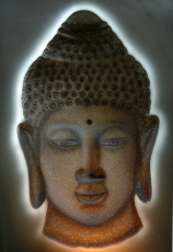 3-D Buddha Hologram Image - Model 7
