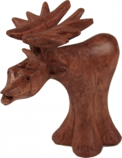 Carved small decorative figure - Fancy Moose 3