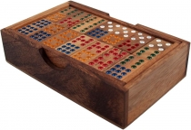 Board game, wooden parlour game - Domino