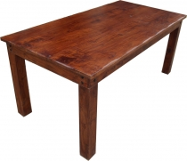 Dining table with round edges without fittings R509 dark - model ..