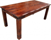 Dining table with round edges Fitting R509 dark - Model 1