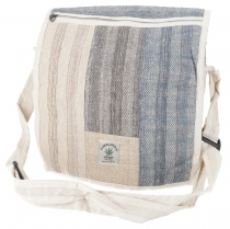Large Hemp Shoulder Bag, Ethno Nepal - Hemp Bag 6