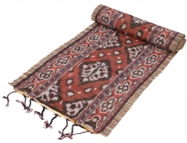 Exotic Ikat table runner, wall hanging - 31*170 cm - red