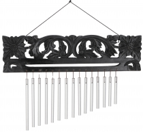 Indonesian aluminium sound play, exotic wind play with carving - ..