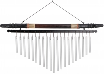 Aluminium sound play, wind chime with bamboo - variation 10